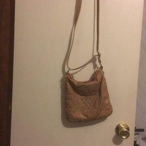 Cato tan owl purse brand new